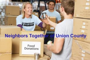 Neighbors Together of Union County - Food donations